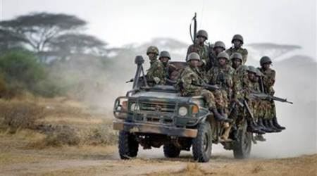 Dozens of Kenyan soldiers killed in rebel attack inSomalia