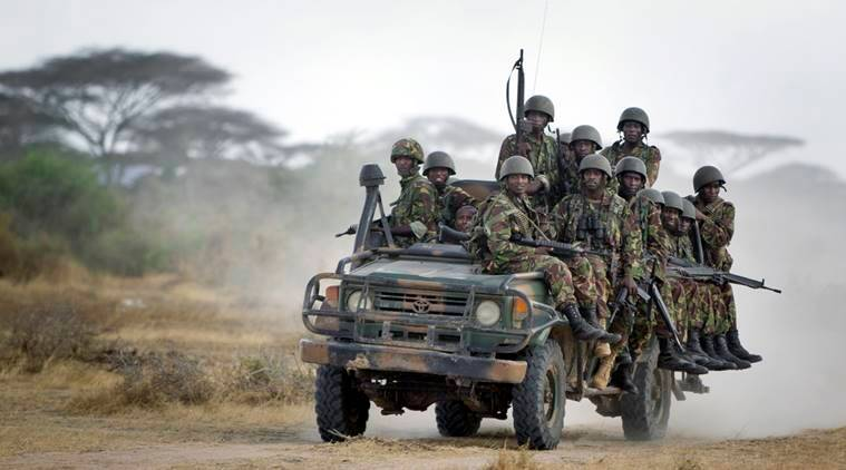 kenya troops, kenya police, kenya bomb, Kenyan President Uhuru Kenyatta , kenya police attack, somalia bomb, somalia kenya, kenya soldiers, world news