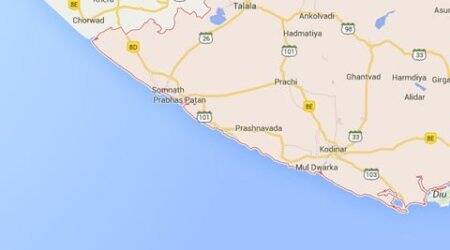 Another school bus overturns in Saurashtra, 14 injured