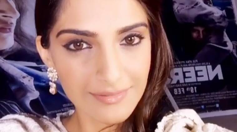 Sonam Kapoor, Neerja, Sonam Kapoor Neerja, Sonam Kapoor in Neerja, Sonam Kapoor Neerja Movie, Sonam Kapoor Fear Campaign, Sonam Kapoor news, Entertainment news