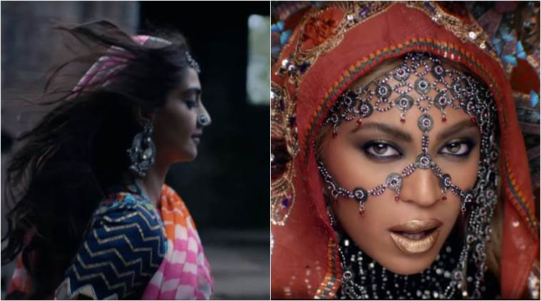 Sonam kapoor, Beyonce, Coldplay, Hymn for the Weekend, Sonam Kapoor Beyonce, Sonam Kapoor Coldplay, Sonam Kapoor ColdPlay Video, Twitter Reactions, Sonam Beyonce, Sonam Kapoor Hymn for the weekend, Entertainment news