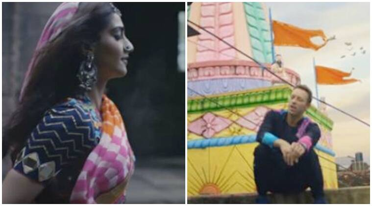 sonam kapoor, coldplay, chris martin, beyonce, hymn of the wekeend, sonam kapoor coldplay, sonam kapoor chris martin, sonam chris martin, entertainment news