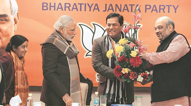 Sarbananda Sonowal, BJP, BJP CM nominee, assam election