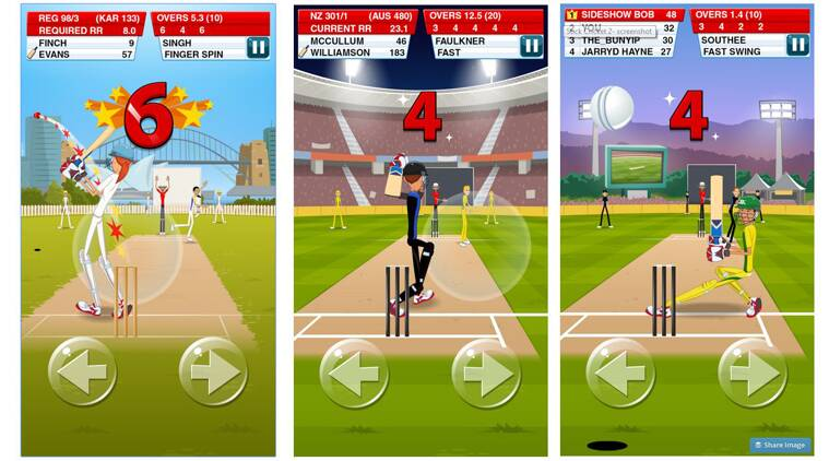 cricket, cricket video games, cricket games, smartphones, best cricket video games, Don Bradman Cricket 2014, ICC Pro Cricket 2015, Cricket Captain 2015, Cricket Career BigInnings, Stick Cricket 2, One More Run, Android, ioS, Android cricket games, iOS cricket games, technology, technology news
