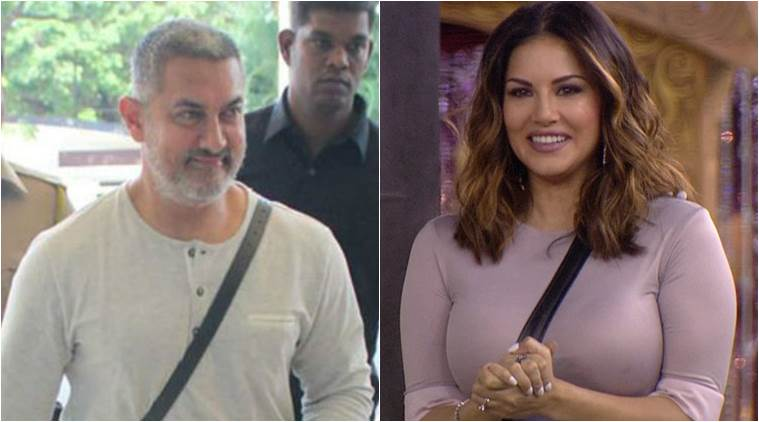 sunny leone, aamir khan, aamir, sunny, sunny leone interview, aamir khan facebook, aamir khan sunny leone, aamir khan Tweet, sunny leone news, entertainment news