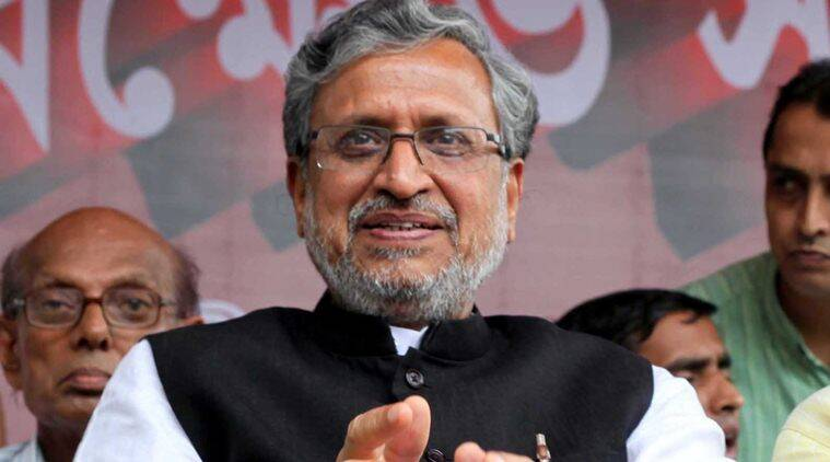 sushil kumar modi, bihar government, breach of embankments, nitish kumar, india news, bihar news, indian express,
