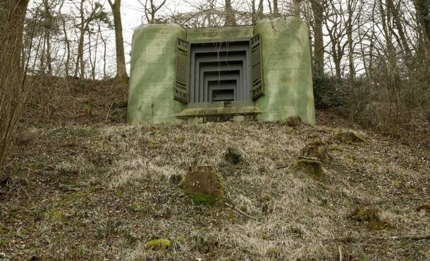 A room without a view: Snapshots of Swiss Army bunkers converted to hotels