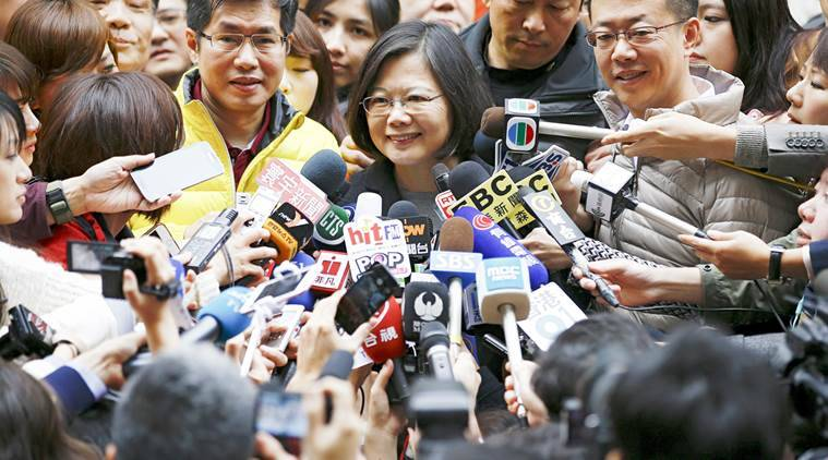 taiwan, taiwan presidential election, Tsai Ing-wen, taiwan election, taiwan DPP party, world news, asia news, latest news,