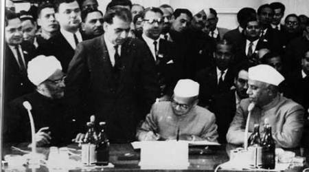 Tashkent Declaration, Pakistan, Tashkent, Tashkent 1996, India-Pakistan relations, Security Council, UN resolutions, indian express columns