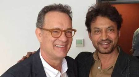 Irrfan Khan, Inferno, Inferno film, Irrfan Khan Tom Hanks, Inferno imax release, Tom Hanks, Irrfan Khan film, Irrfan Khan hollywood film, Irrfan Khan news, entertainment news