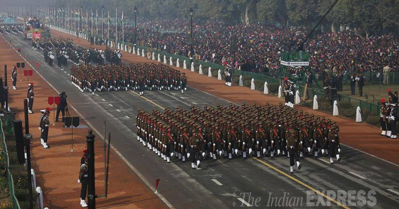 Republic Day, Republic Day Parade, Republic Day Full Dress rehearsal, Republic Day pics, Republic Day Parade Pics, Republic Day Full Dress rehearsal Pics, New Delhi, Rajpath