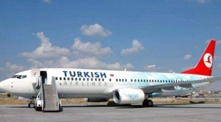 Turkish Airlines plane from US diverted due tothreat