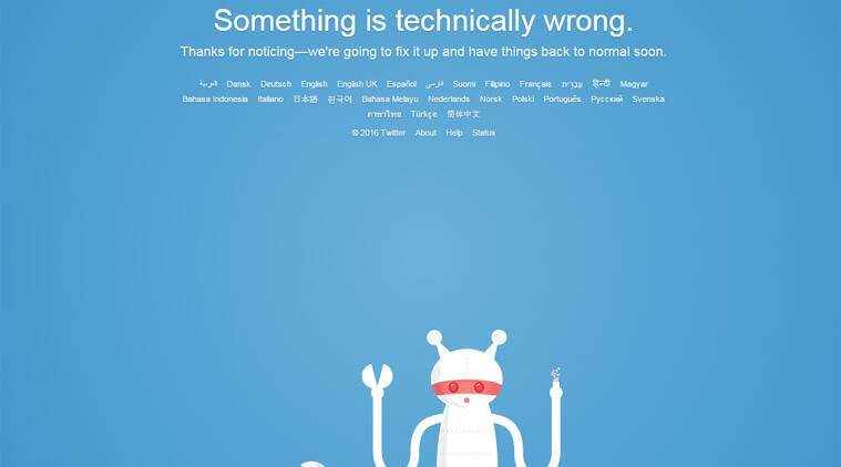 Twitter down, Twitter, Twitter goes down, Twitter outage, Twitter not working, Twitter outage India, technology, technology news