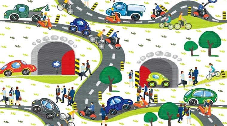Smart cities, smart city, mobility roadmap, roadmap, urban news, indian express news