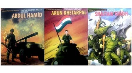 Veergatha series: Five new illustrated books celebrate the lives of Indian war heroes