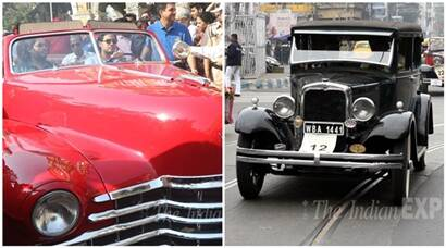 Vintage classics turn heads in Mumbai, Kolkata