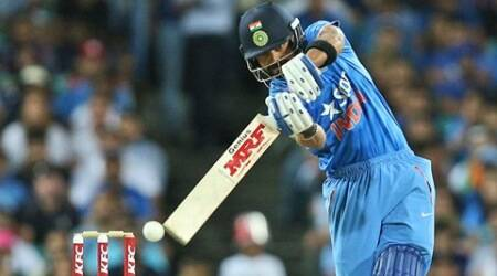 Virat Kohli received his third Player of the Series award in T20Is. (Source:AP)