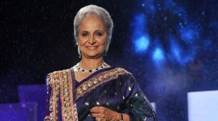 Actress Waheeda Rehman honoured with special award