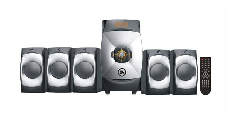 Xander Audios XA - 599BT is a 5.1 channel multimedia speaker that works across various smart devices