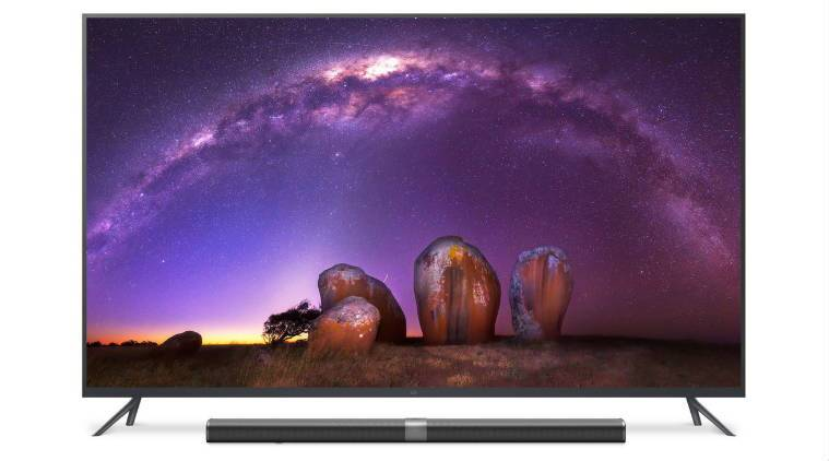Xiaomi Mi TV 3 is the biggest 4K TV from the Chinese tech giant (Source: Xiaomi)