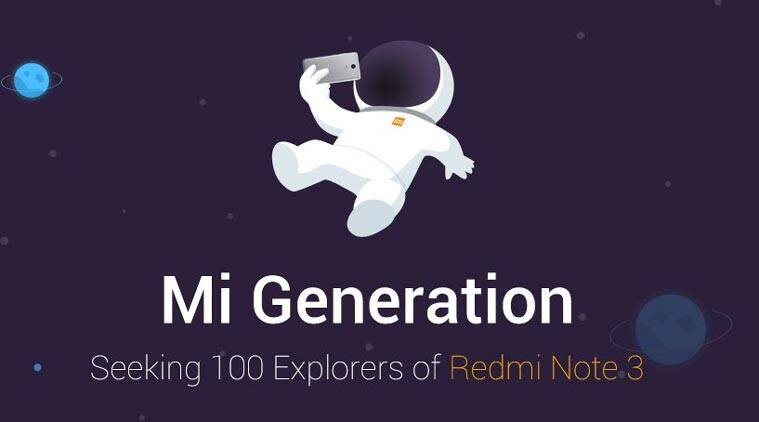 Xiaomi Redmi Note 3, Redmi Note 3 India contest, Redmi Note 3 Explorer contest, Xiaomi, Redmi Note 3 Explorer contest, Redmi Note 3 India contest, Redmi Note 3 price, Redmi Note 3 specs, Redmi Note 3 price, technology, technology news