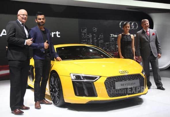 Alia Bhatt, Virat kohli, Audi r8