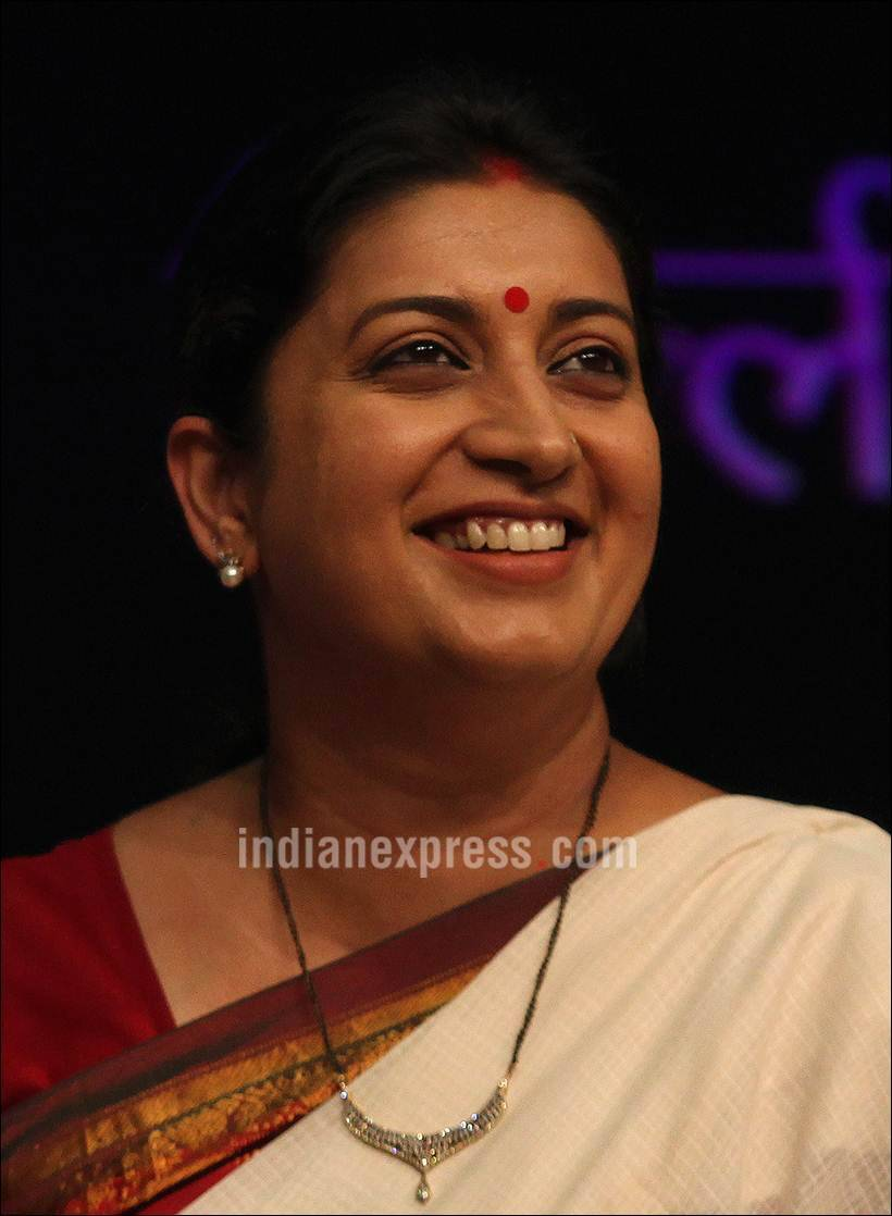 Will agitate against mamata banerjee for attacking our workers bjp the indian express - Smriti Irani