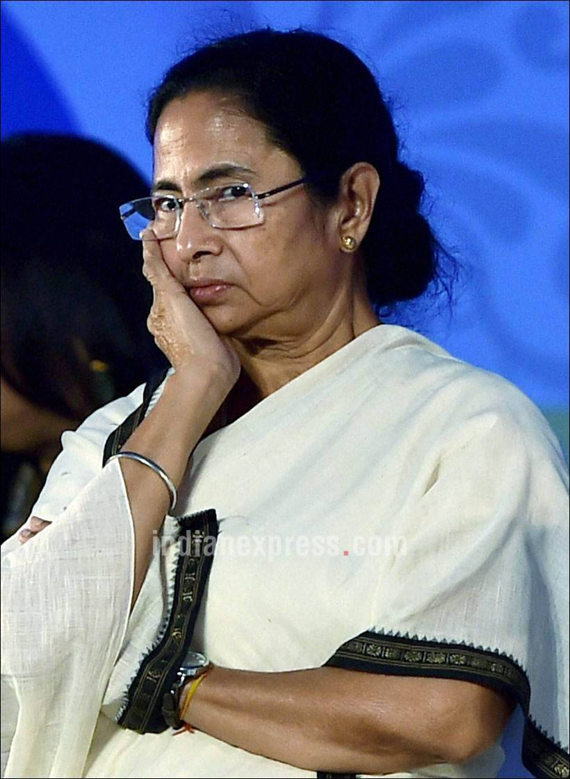 Will agitate against mamata banerjee for attacking our workers bjp the indian express - Mamata Banerjee