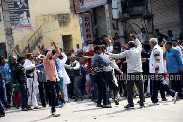 haryana, jat quota stir, jat quota, jat agitation, jat agitation pphotos, haryana photos, rohtak, rohtak photos, haryana violence, violence in rohtak, jat quota violence, jat protests, jat protests delhi, delhi water, delhi water crisis, delhi news, haryana news, curfew in haryana, india photos