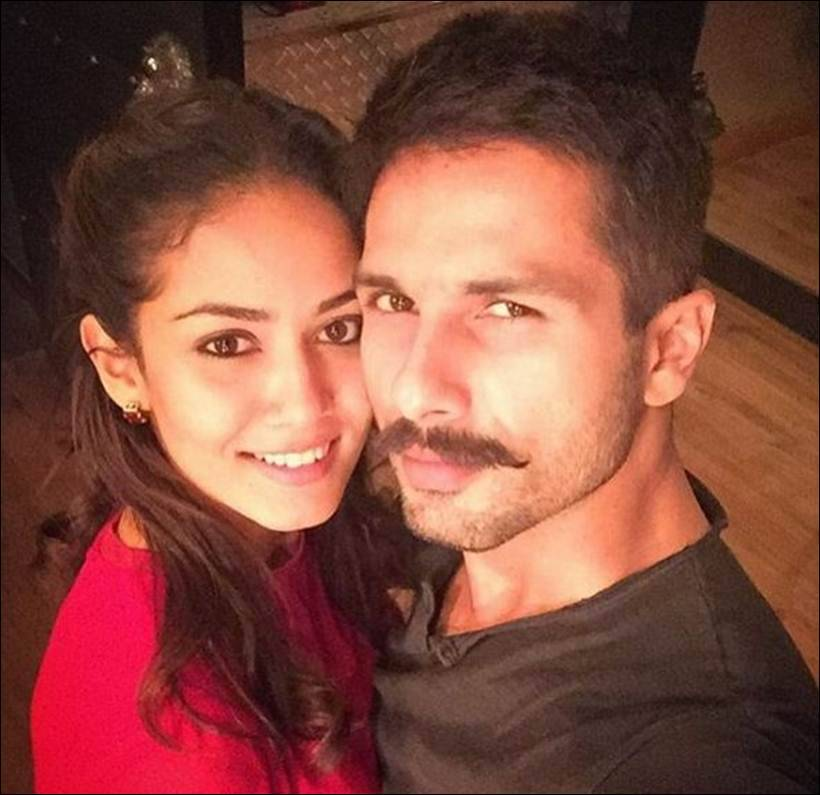 Shahid Kapoor, Mira Rajput, shahid mira, shahid mira anniverary, shahid mira second anniversary, shahid mira daughter, misha, misha photos, shahid mira photos, shahid mira wedding photos