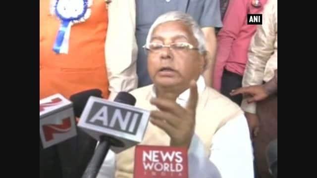 BJP has derailed Rail Budget: LaluYadav