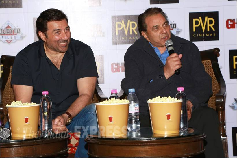 Sunny Deol, Ghayal Once again, Sunny Deol Ghayal Once again, Sunny Deol Ghayal promotion, Ghayal Once again promotion, Ghayal Once again promotion images, Sunny Deol images, Dharmendra Ghayal Once again promotion, Sunny Deol latest movie, Sunny Deol latest pics