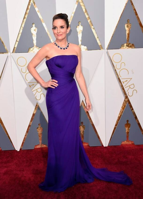 Oscars 2016: Blues and purples ruled the red carpet