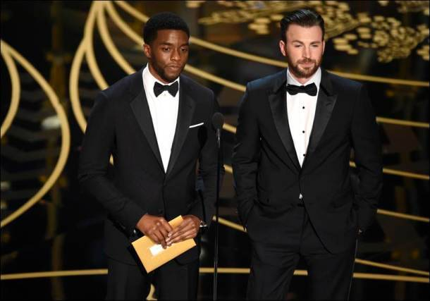 oscars, oscar awards 2016, priyanka chopra, oscar awards presenters, chadwik boseman, chris evans