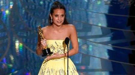 Oscar, Oscar 2016, Oscar 2016 winner, Alicia Vikander, The Danish Girl, Alicia Vikander best supporting, Alicia Vikander award, Alicia Vikander news, Alicia Vikander oscars, Alicia Vikander oscar, entertainment news