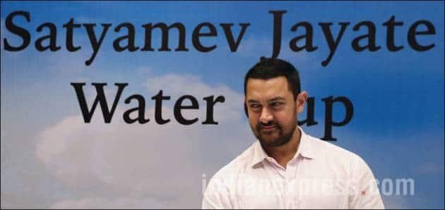 Aamir Khan, Devendra Fadnavis, Satyamev Jayate, Satyamev Jayate Water Cup, Aamir Khan Devendra Fadnavis, Maharashtra Chief Minister Devendra Fadnavis, Aamir Khan Pics, Aamir Khan Photos
