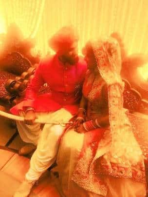 Raj Babbar, Aarya Babbar, Jasmine puri, Aarya Babbar wedding photos
