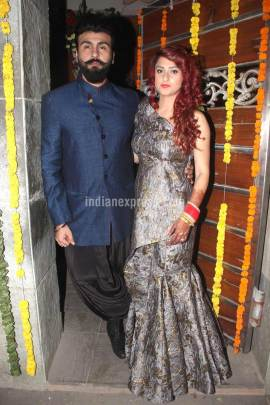 Aarya Babbar wedding, Jasmine Puri