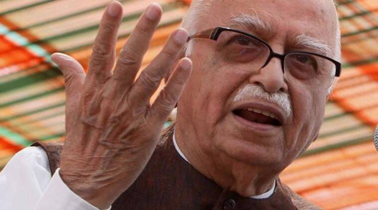 L K Advani, Advani, Lal Krishna Advani, BJP, congress, Parliament, Parliament deadlock, Parliament disruption, demonetisation, demonetisation debates, demonetisation effects, winter session, winter session of Parliament, Narendra Modi, Modi, PM Modi, BJP, AgustaWestland, Lok Sabha, Lok sabha adjourned, Sumitra Mahajan, India news, indian express news