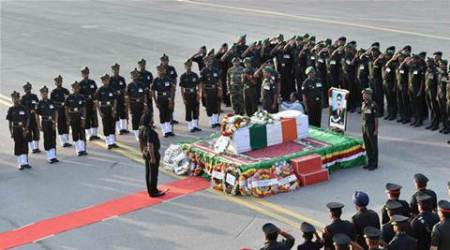Siachen avalanche: Deceased jawan Sepoy Mustaq Ahmed laid torest