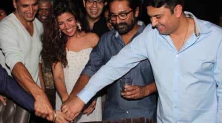Airlift crosses Rs 100 crore, Akshay Kumar, Nimrat Kaur celebrate the film'ssuccess