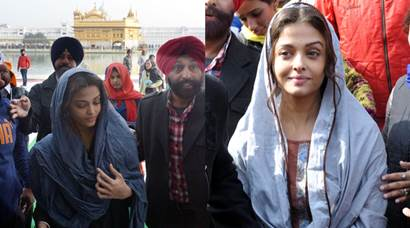 Aishwarya Rai Bachchan offers prayers at Golden Temple