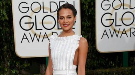 Alicia Vikander worked at flower shop before becoming famous
