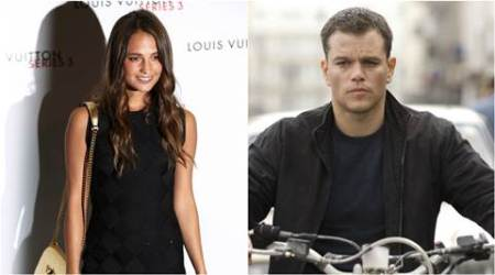 Alicia Vikander, Matt Damon, Alicia Vikander Matt Damon, Bourne 5, Alicia Vikander Bourne 5, Alicia Vikander in Bourne 5, Matt Damon bourne 5, Entertainment news
