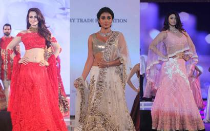 Ameesha Patel, Shriya Saran, Daisy Shah on ramp