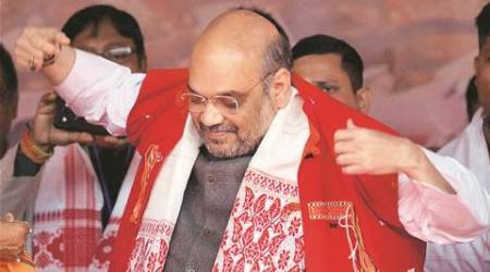 In Assam, Amit Shah's pitch is about making state free ofinfiltrators