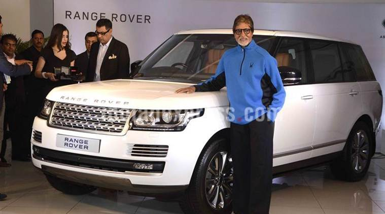 Amitabh Bachchan gets new Land Rover | The Indian Express