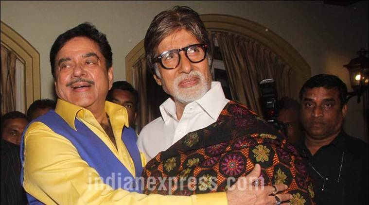 Amitabh Bachchan, Shatrughan Sinha, Shatrughan Sinha Biography, Anything But Khamosh, Shatrughan Sinha Villian, Amitabh Bachchan Shatrughan Sinha, Big B, Shatrughan Sinha Biography Launch, Entertainment news