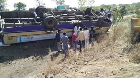 Amreli: 7 killed, 27 injured as GSRTC bus overturns; second major accident in a week