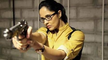 Role in 'Kshanam' total contrast to my TV avatar: AnasuyaBharadwaj